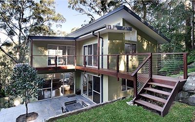 bushfire prone home