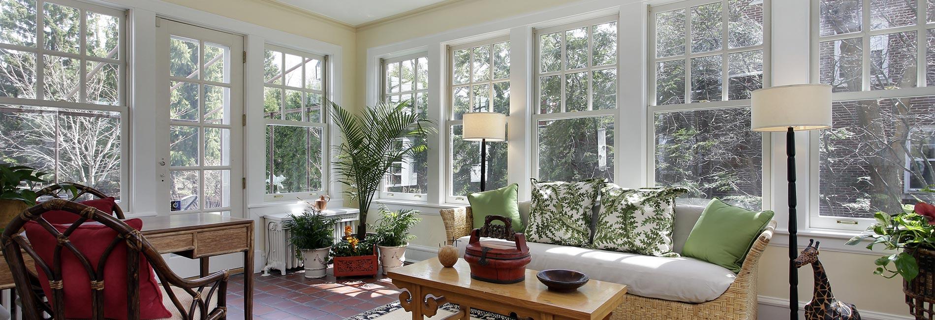 conservatory and sunroom