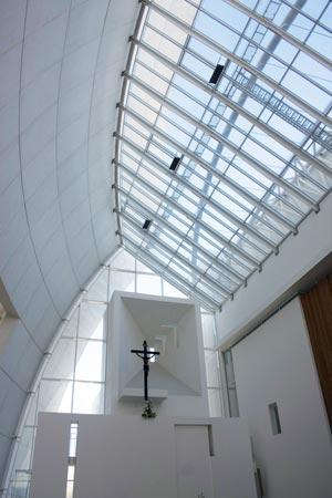 Jubilee church interior