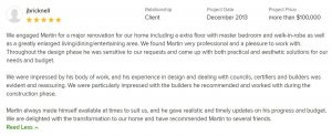 East Lindfield home extension and renovation feedback